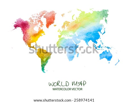 World Map Vectors