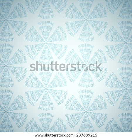 Hand drawn winter background, vector eps10 illustration - stock vector