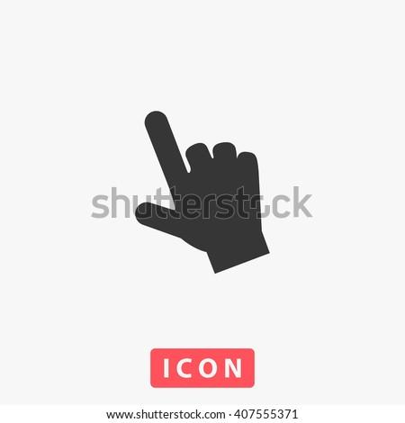 hand Icon.  - stock vector