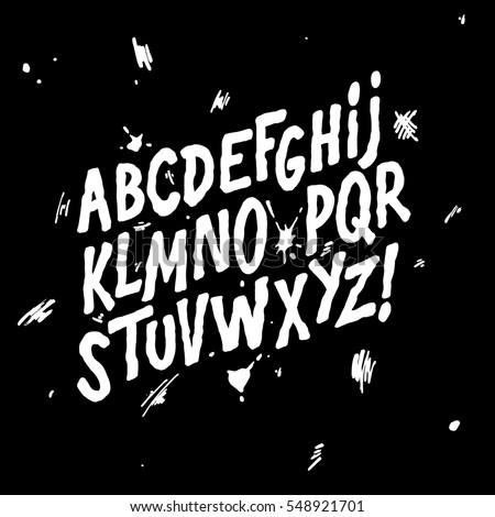 Hand lettering sketch font vector alphabet stock vector 548921701 hand lettering sketch font vector alphabet altavistaventures Image collections