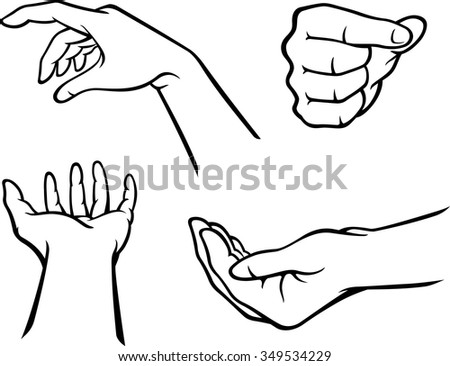 Hand Set-Variations of Hand gestures