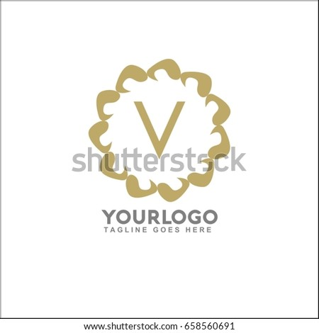 hand spinner vector logo template your stock vector 658560691