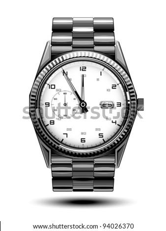 Hand watch - stock vector