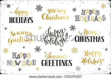 Hand written new year phrases greeting stock vector royalty free hand written new year phrases greeting stock vector royalty free 539299207 shutterstock m4hsunfo