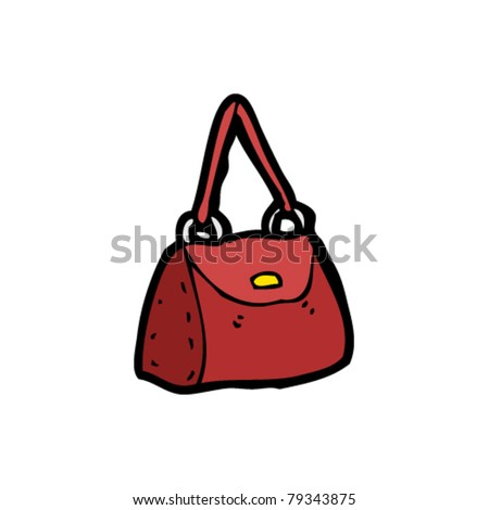 handbag cartoon