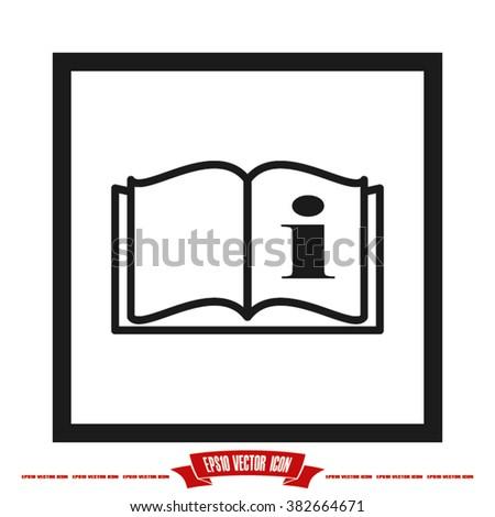 handbook icon stock vector 382664671 shutterstock rh shutterstock com vector handpieces vector handpieces
