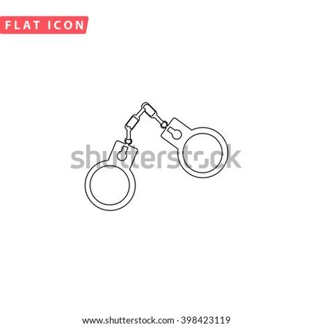 Handcuffs Icon Vector. Handcuffs Icon JPEG. Handcuffs Icon Picture. Handcuffs Icon Image. Handcuffs Icon Graphic. Handcuffs Icon JPG. Handcuffs Icon EPS. Handcuffs Icon AI. Handcuffs Icon Drawing - stock vector