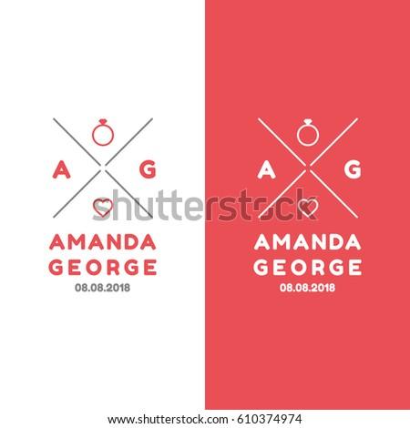 Handmade With Love Logo Design Template