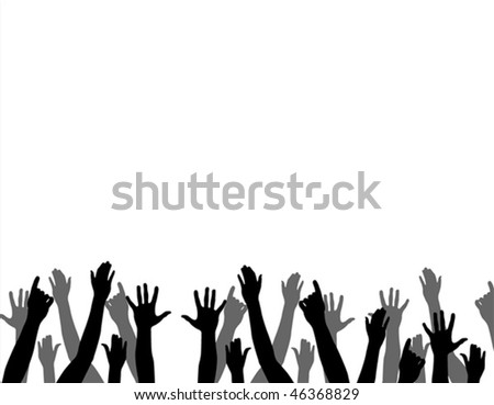 hands - stock vector