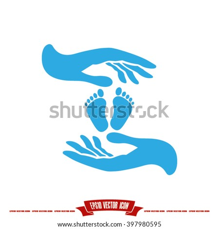 Hands Feet Icon