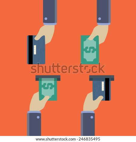 hold call on credit card machine