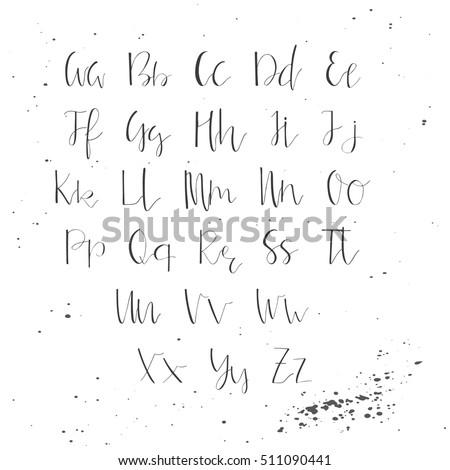Alphabet Letters Elegant