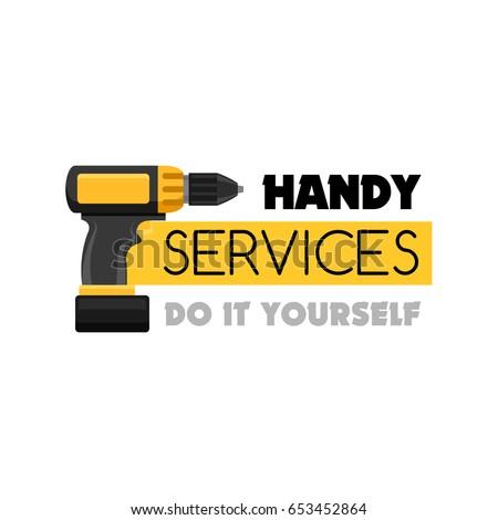 Handy service diy do yourself house stock vector 653452864 handy service diy do yourself house stock vector 653452864 shutterstock solutioingenieria Images