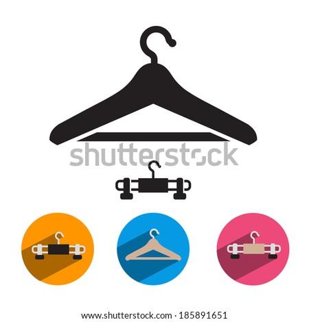 Hanger. Vector format - stock vector