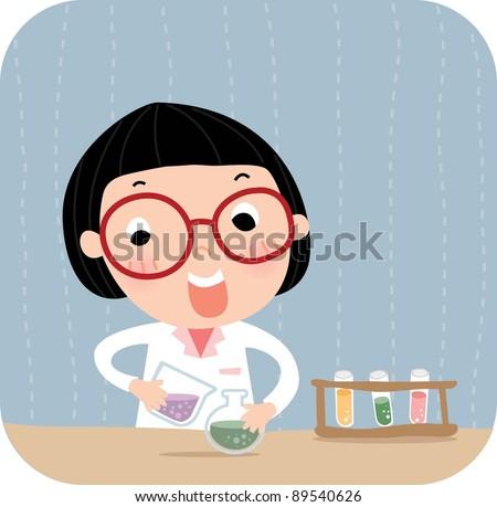 Happy Academic Life - stock vector
