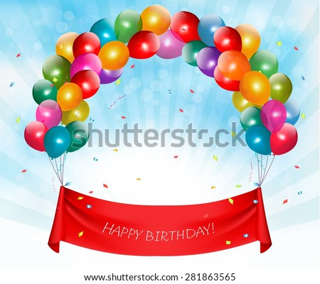 Birthday Banner Stock Images, Royalty-Free Images & Vectors ...