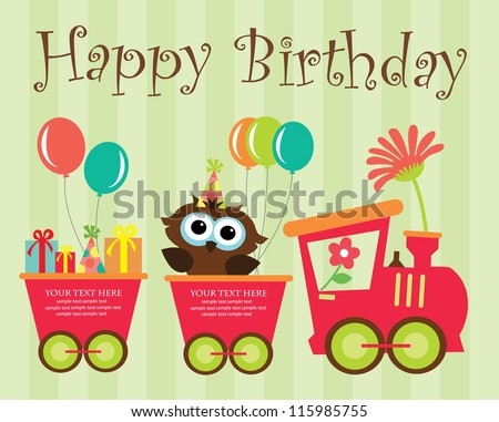 Birthday Card Images RoyaltyFree Images Vectors – Baby Birthday Cards Design