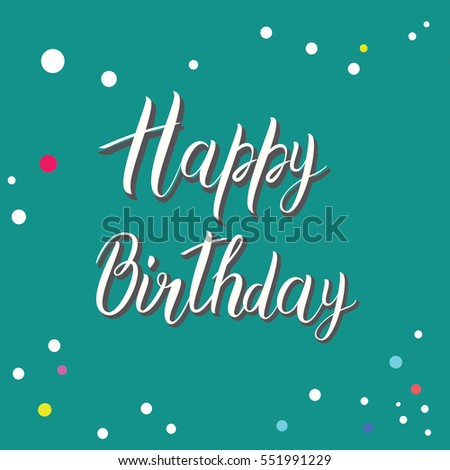 happy birthday letter style stock photos royalty free images amp vectors 8820