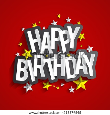 Happy Birthday Card Images RoyaltyFree Images Vectors – Birthday Greeting Cards Images