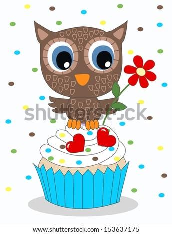 happy birthday or baby shower - stock vector