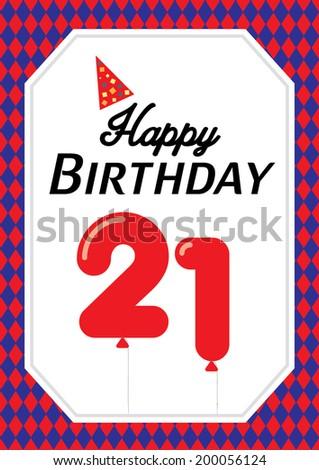 Happy birthday poster template vectorillustration layout stock happy birthday poster template vectorillustration layout design background greeting card maxwellsz