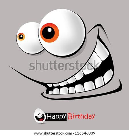 Happy Birthday Smile holiday - stock vector