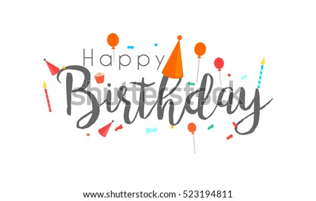 Happy Birthday Banner Images RoyaltyFree Images Vectors – Text for Birthday Card