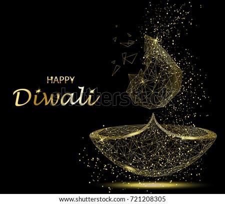 Happy diwali greeting card deepavali light stock vector royalty happy diwali greeting card deepavali light stock vector royalty free 721208305 shutterstock m4hsunfo