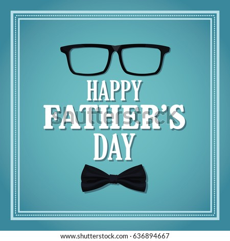happy fathers day card invitation partyのベクター画像素材 636894667