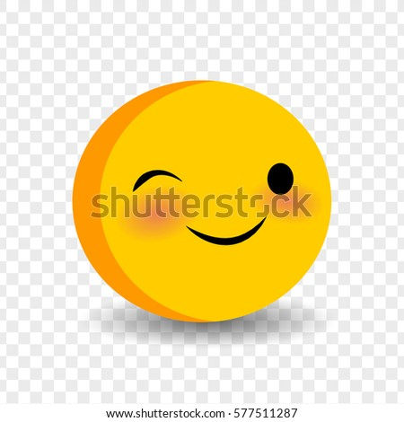 Happy Feelings Expression Message Sms Cute Stock Vector 577511287