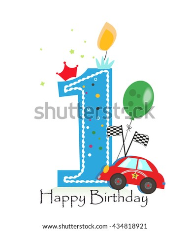 First Birthday Stock Images Royalty Free Images Vectors Happy Birthday Wishes For A Baby Boy