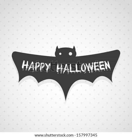 Happy Halloween - stock vector