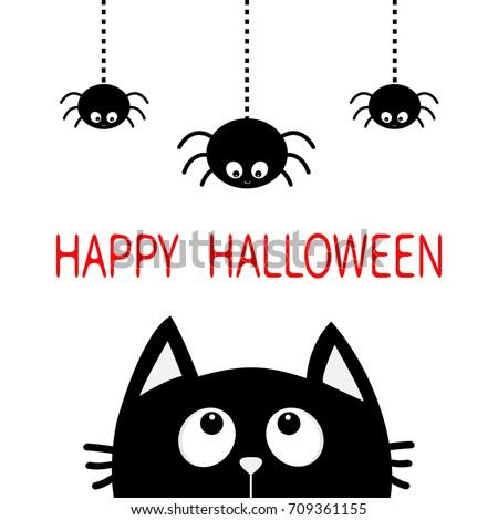 Halloween Hanging Spider Silhouette | www.pixshark.com ...