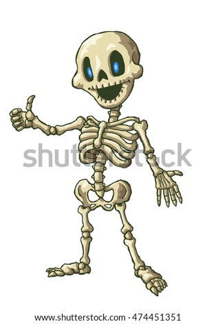 skeleton cartoon stock images, royalty-free images & vectors, Skeleton