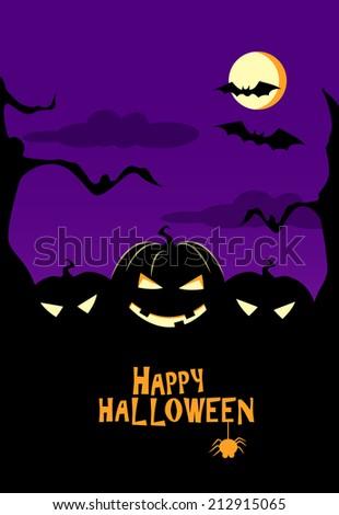 Happy Halloween Vector Illustration? - stock vector