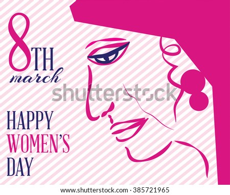 Happy international women's day to all the ladies.A special day.