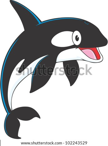 Orca cartoon Stock Photos  Illustrations  and Vector ArtOrca Whale Cartoon