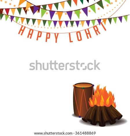 Punjabi culture stock images royalty free images vectors happy lohri background punjabi festival eps 10 vector illustration for greeting card malvernweather Choice Image