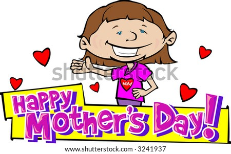 Happy Mother's Day 5 - stock vector