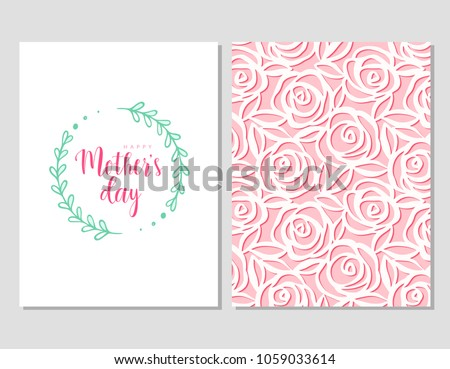 Mothers Day Template Cards