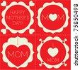 Happy Mother's Day Vector - stock vector