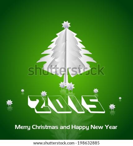 Happy New Year 2015 - stock vector