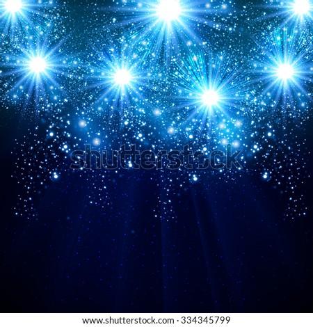 Happy New Year 2016 celebration background - stock vector