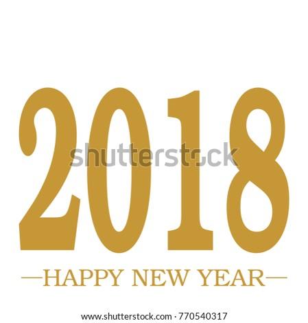 stock-vector-happy-new-year-greeting-gol