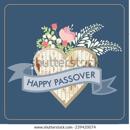 Happy passover card vector format stock vector 239420074 shutterstock m4hsunfo Choice Image