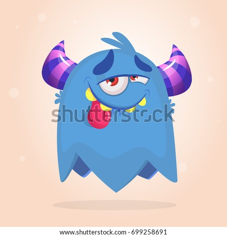 Happy Monster Illustration Monster Stock Images, ...