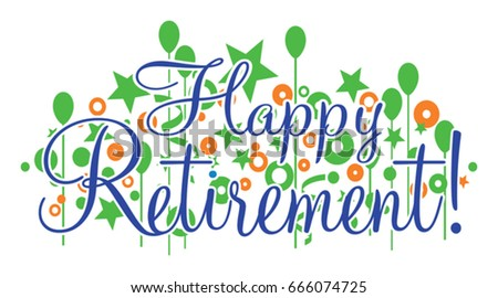 Happy Retirement Banner Stock Images, Royalty-Free Images ...