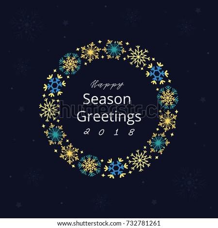 Happy season greetings stock vector royalty free 732781261 happy season greetings m4hsunfo