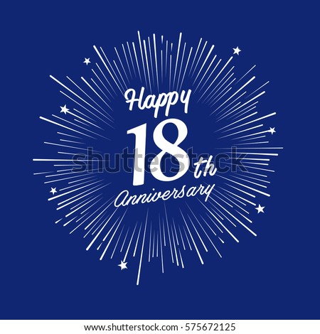 18th Anniversary Stock Images Royalty Free Images