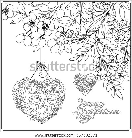 older valentines day coloring pages - photo#19